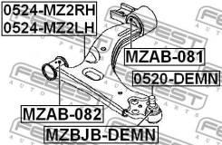 Сайлентблок передний переднего рычага Febest MZAB082
