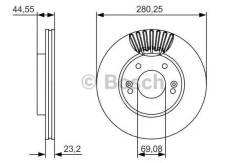 Тормозные диски Bosch 0986479A12
