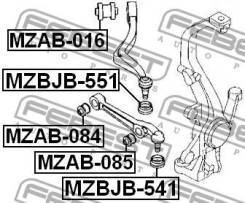 Сайлентблок переднего нижнего рычага Febest MZAB084