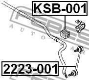 Втулка заднего стабилизатора d14.8 Febest KSB001