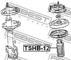 Пыльник переднего амортизатора с отбойником d12 [TSHB12]