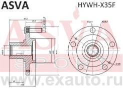 Ступица передняя ASVA Hywhx35F HYWHX35F