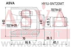 Шрус внутренний 25x41x27 ASVA Hyiusnt20MT HYIUSNT20MT