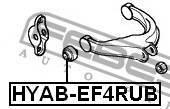 Сайлентблок заднего верхнего рычага Febest Hyabef4RUB