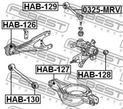 Сайлентблок заднего рычага Febest HAB130