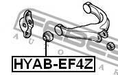Сайлентблок заднего верхнего рычага Febest Hyabef4Z