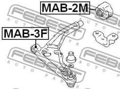 Сайлентблок задний переднего рычага Febest MAB2M MAB2M