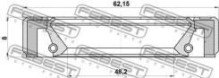 Сальник привода 50x62x8 Febest 95GBY50620808L
