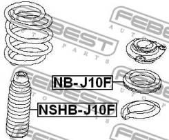 Пыльник переднего амортизатора Febest Nshbj10F