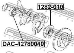 Подшипник ступичный передний 42x78x40 Febest DAC42780040