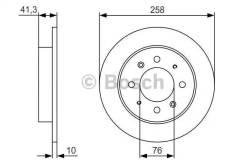 Тормозные диски Bosch 0986479S57 0986479S57