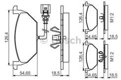 Дисковые колодки передние Bosch 0986495213 0986495213