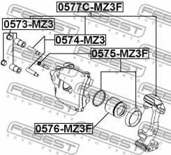 Втулка направляющая суппорта тормозного Febest 0574MZ3