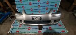 Бампер передний Toyota Premio ZZT245 код краски 1C0