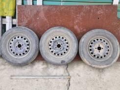 Комплект ниссановских штамповок на 14 из 3 колес.