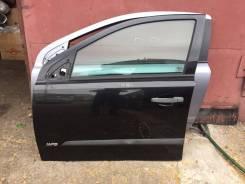Дверь передняя левая Opel Astra H черная