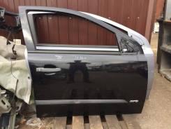 Дверь передняя правая Opel Astra H черная
