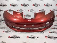 Бампер передний Nissan Leaf (ZE0) 2009-2017 год красный 4830