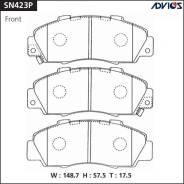 Колодки тормозные дисковые передние Advics SN423P SN423P