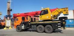 Palfinger-Sany. Кран автомобильный г/п 30 тонн Palfinger SANY на шасси Камаз 43118-50, 11 762куб. см., 32,00м.