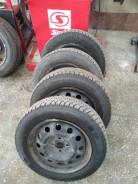 Зимние колеса от Kia Rio (шипы) 185/65R15 Tunga Nordway диски 4*100