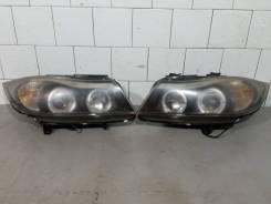 Фара BMW 3-Series E90/E91 черная SK3301-103054D, SK3302-103054D