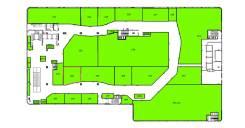 """ТРЦ """"Черёмушки"""" предлагает в аренду торговую площадь во Владивостоке. 62,2кв.м., улица Черемуховая 15, р-н Чуркин. План помещения"""