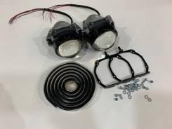 Линзы фары Camry XV50 2011-2015 адаптив Dixel H3 Bi-LED