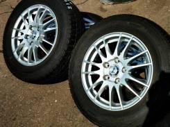 31933 Комплект дисков Monza ZACK R15, 6+53, 5x114.3 + ШИНЫ