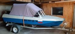 Казанка-5М. 2013 год, длина 5,00м., двигатель подвесной, 55,00л.с., бензин
