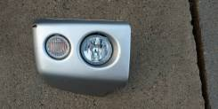 Продам бампер передний правый на Mitshubishi Pajero Mini H58A