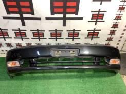 Бампер Toyota Chaser 90 дорестайл цвет 6n2 #11069 отверстия от сонаров