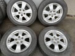 Отличная зима Данлоп 215/60 R16 на литье Тойота 5/114