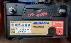 ACDelco. 50А.ч., Прямая (правое), производство Япония