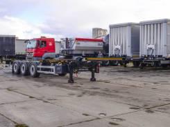 Orthaus. Полуприцеп контейнеровоз новый, 34 550кг.