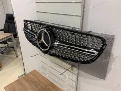 Решетка радиатора Mercedes GLC X253, GLC coupe C253 Новая Diamond