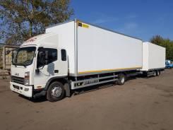 JAC N120. (12,0т МРМ) Фургон промтоварный от 6,5м до 8,4м, (7тонн г/п), 3 800куб. см., 7 000кг., 4x2