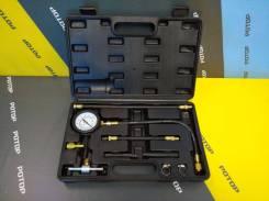 Измеритель давления топлива АвтоДело (ВАЗ и иномарки) 10 пр. в кейсе 145123/40088