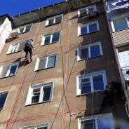 Промышленный альпинист. Ип Климов. Улица Амурская 13