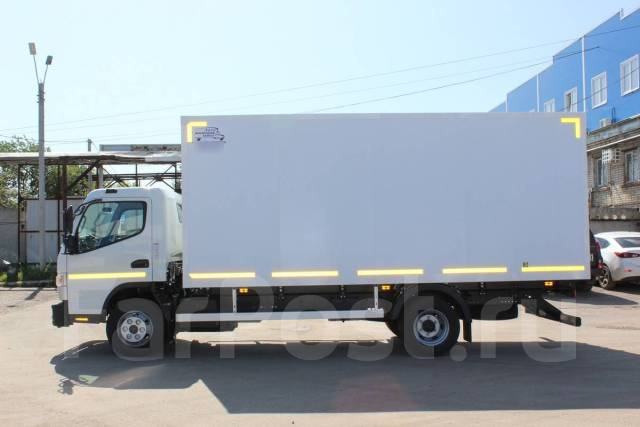 Mitsubishi Fuso Canter. FUSO Canter TF (Фузо кантер) Промтоварный фургон, 3 000куб. см., 5 000кг., 4x2. Под заказ