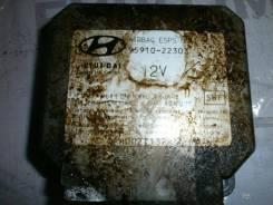 Блок AirBag Hyundai Accent I X-3 1998 [9591022303, 5WK4102]