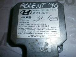 Блок AirBag Hyundai Accent I X-3 1996 [9591022300, 5WK4142]