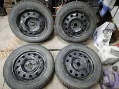 Комплект шипованных колес 195/60R15 на штамповках 4х100