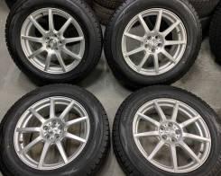 Weds Ravrion R17 5*100 7j et50 + 225/65R17 Dunlop Winter Maxx SJ8 2016
