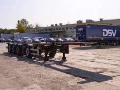 Orthaus. Полуприцеп контейнеровоз CGS C40 4-х осный новый, 38 300кг.