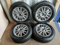 Отличный комплект литья с зимними шинами 175/65R14 Япония (№74)