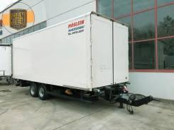 Moslein. Прицеп фургон Moeslein 45 м3, 2014 год, сквозная погрузка, гидролифт, 6 800кг. Под заказ