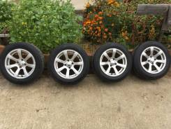 Комплект литых дисков Скад Лира 2 на зимних шинах 175/65R14 Dunlop