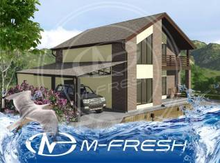 M-fresh Favorit (Готовый проект солидного каменного коттеджа! ). 200-300 кв. м., 2 этажа, 5 комнат, бетон