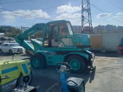 Kobelco. Экскаватор на колёсном ходу SK100W есть ПСМ во Владивостоке, 0,50куб. м.